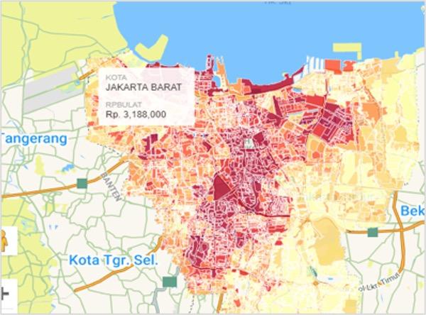 Integrasi Zona Tanah