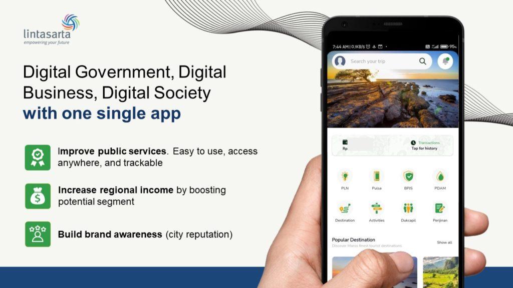 Digital Transformasi Melalui 1 Super App