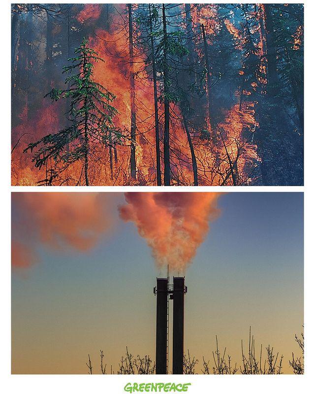 Polusi Udara. Pic by Greenpeace
